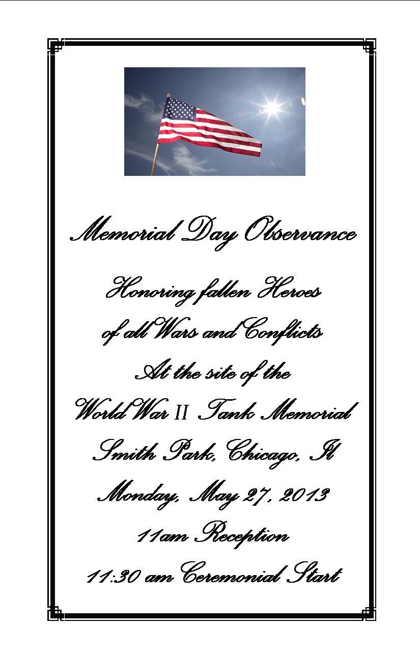 word 2013 funeral program